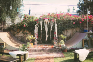 Bohemian Backyard Wedding Chris Wodjak Photography 2-h