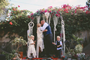 Bohemian Backyard Wedding Chris Wodjak Photography 53-h