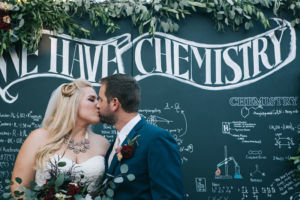 Chemistry Inspired Science Wedding A Heart String 1-h